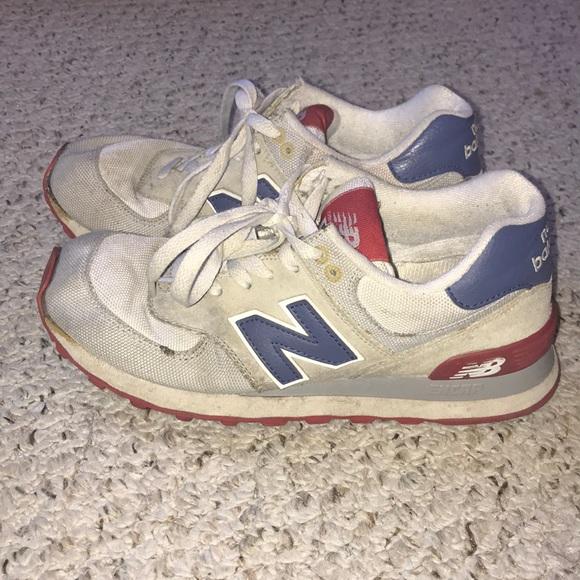 vente chaude en ligne 6662e 4e0ae vintage 574 New Balance sneakers
